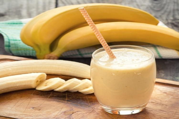 como fazer vitamina de banana