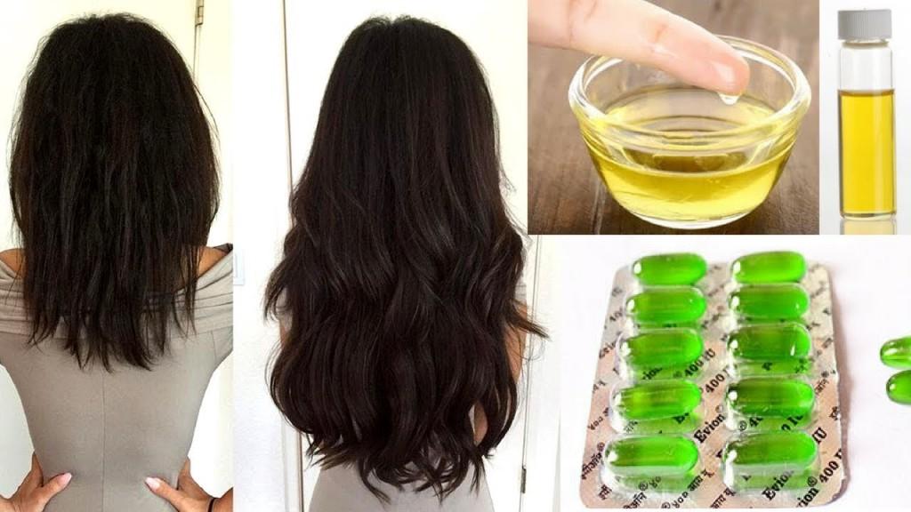 vitaminas para cabelo receitas