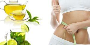 receita de chá verde para emagrecer