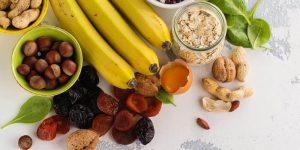 alimentos para evitar a deficiencia de potassio