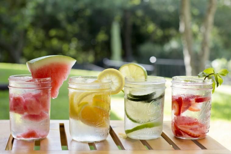 aguas desintoxicantes para perder peso