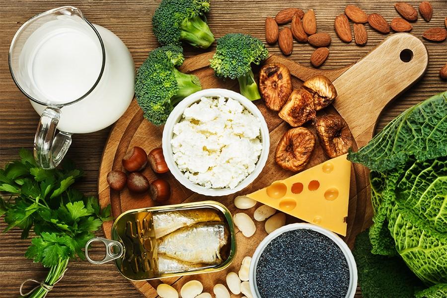 alimentos com calcio