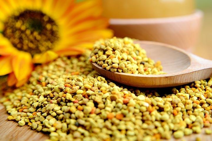 benefícios pólen de abelha