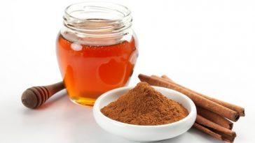 canela e mel para a perda de peso