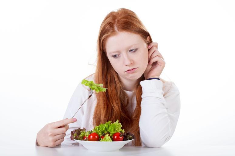 causas da falta de apetite