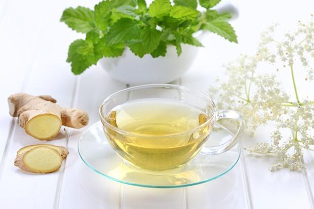 chá de gengibre para a perda de peso
