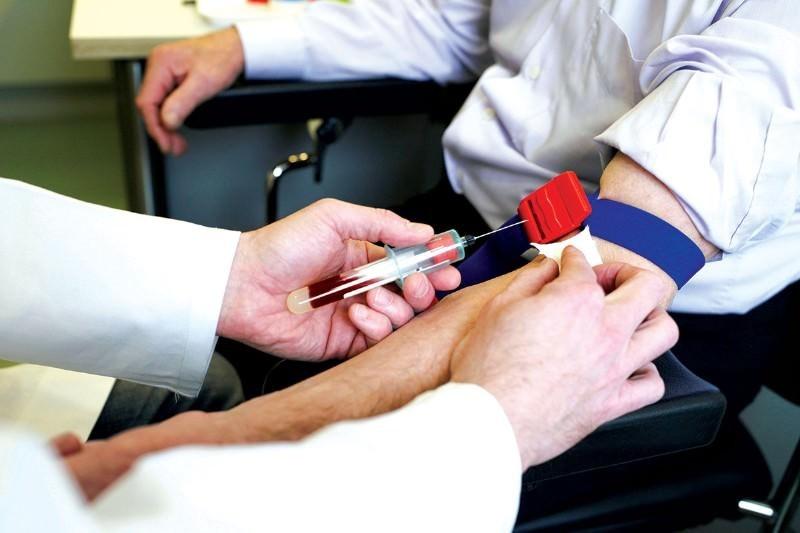 exame de sangue para colesterol