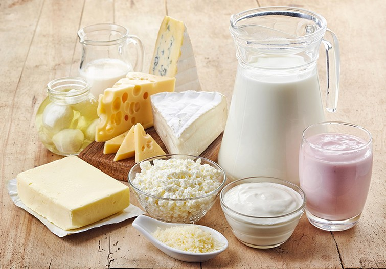 produtos lácteos são saudáveis para ganho de peso