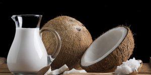 receitas caseiras com leite de coco para cabelo