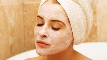 máscaras caseiras com bicarbonato de sódio