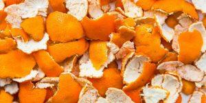 máscaras caseiras com casca de laranja para pele
