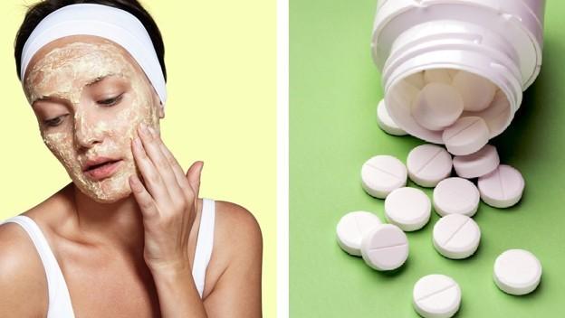 Máscaras de Aspirina Para Acne