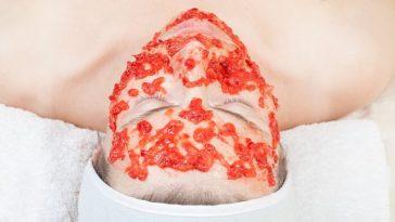 Máscara de Tomate Para o Rosto