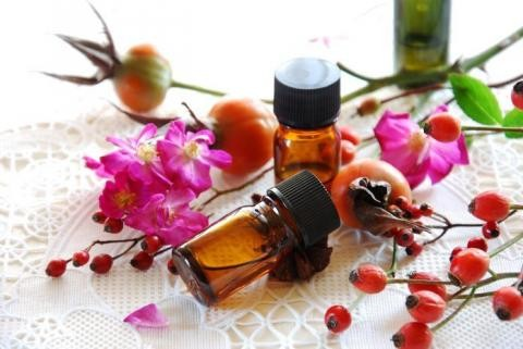óleo de rosa mosqueta ajuda manter a pele limpa e saudável