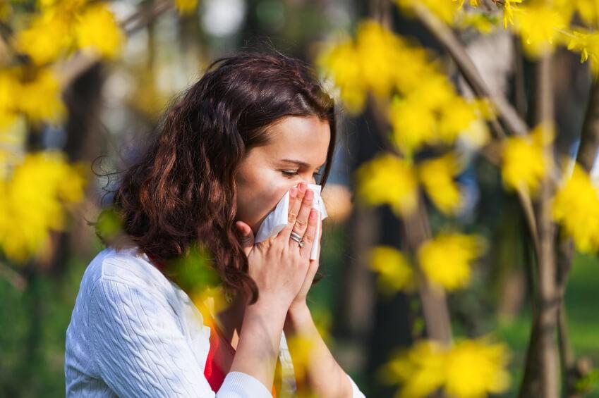sintomas das reacoes alergicas