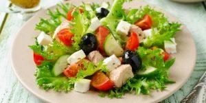saladas para perder peso e aumentar o metabolismo