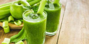 benefícios do suco de aipo para perda de peso