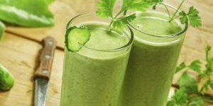 suco de aipo, pepino e abacaxi para emagrecer