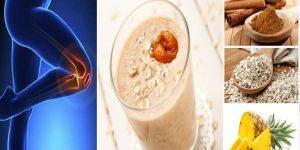 bebida para reconstruir a cartilagem