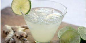 limonada com gengibre para eliminar gordura da barriga