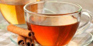 chá de canela para perder peso