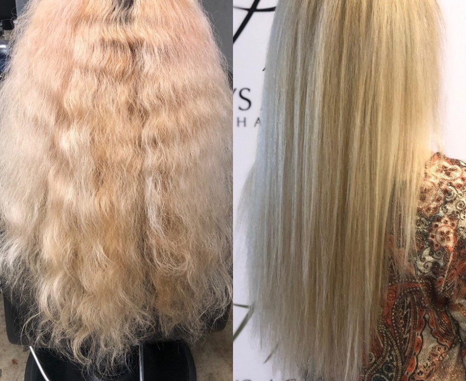como restaurar o cabelo depois de tingir