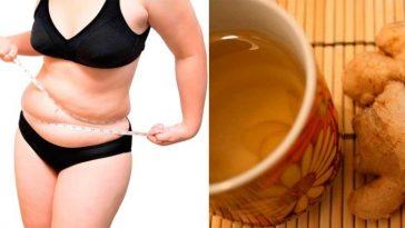 Água de gengibre ajuda derrete a gordura da Barriga em 3 dias