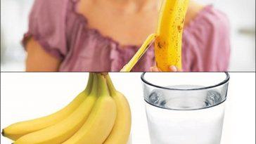 Banana e Agua Morna