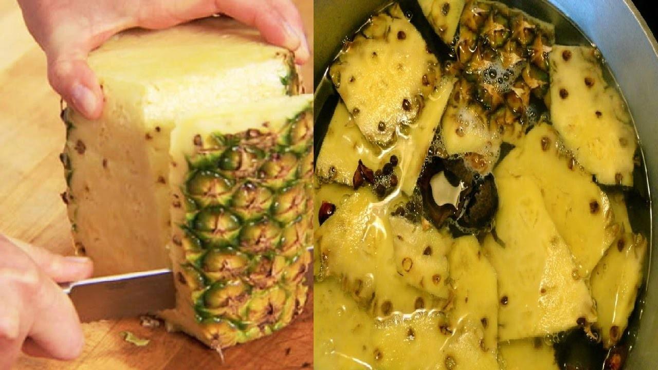 cha de abacaxi com canela para perder peso