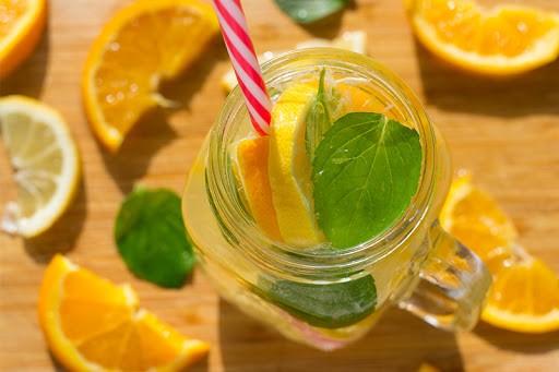 suco limao e laranja para eliminar 5,4 kg