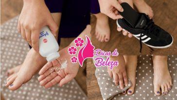 formas de acabar com mau cheiro dos pés