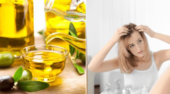 receitas com azeite para eliminar a calvície