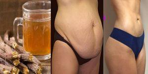 bebida com raiz de alcaçuz para perder peso