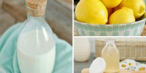 limao e leite para clarear a pele rapido