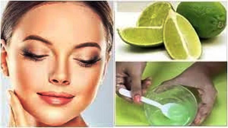 limão para remover manchas do rosto