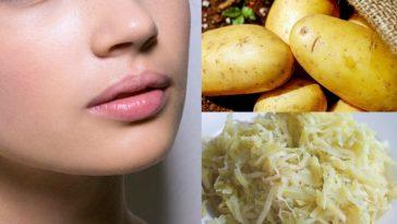 ingredientes para remover manchas e rugas da pele