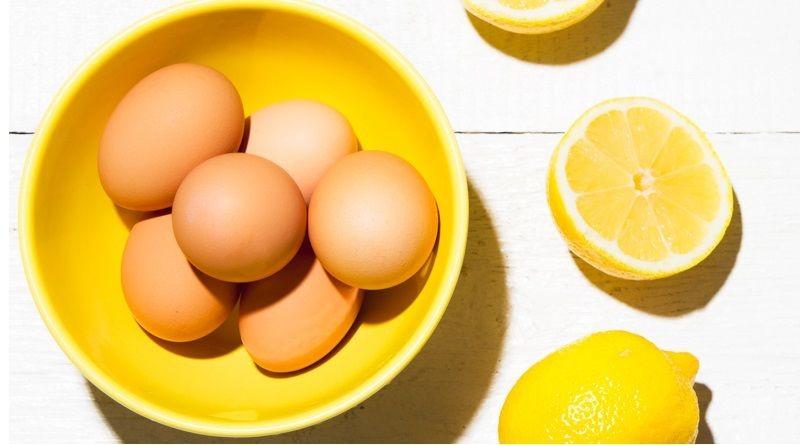 máscara de ovo para a eliminar rugas