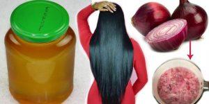 cebola para queda de cabelo