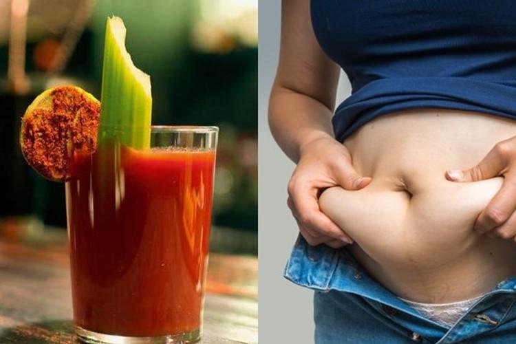 Suco de Tomate Para Queimar Gordura da Barriga