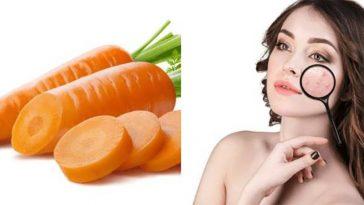 cenoura para pele