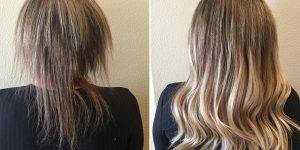 formas de recuperar cabelos danificados em casa