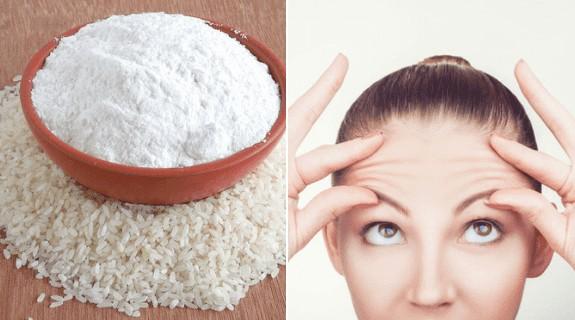 maneiras de como usar o arroz para remover rugas