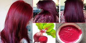 como usar beterraba para um cabelo ruivo