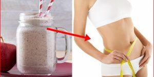 batido de linhaça para eliminar gordura