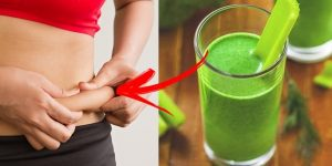 suco de aipo e abacaxi para derreter gordura