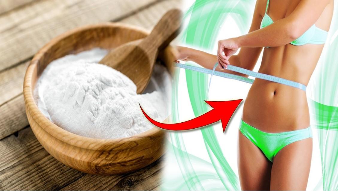 como usar bicarbonato de sodio para perder peso