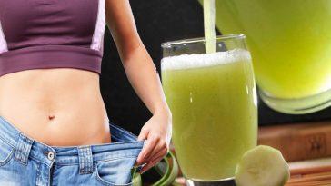 Como Remover a Gordura da Barriga com Água de Pepino