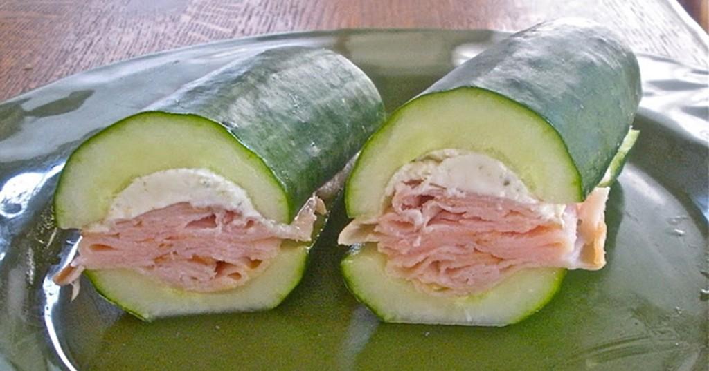 sanduíche sem pão para perda de peso