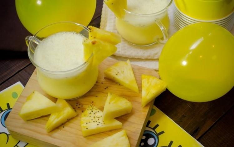 agua de abacaxi para eliminar gordura da barriga
