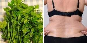 agua de salsa para perder peso